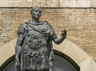 The advancing of julius caesars political career