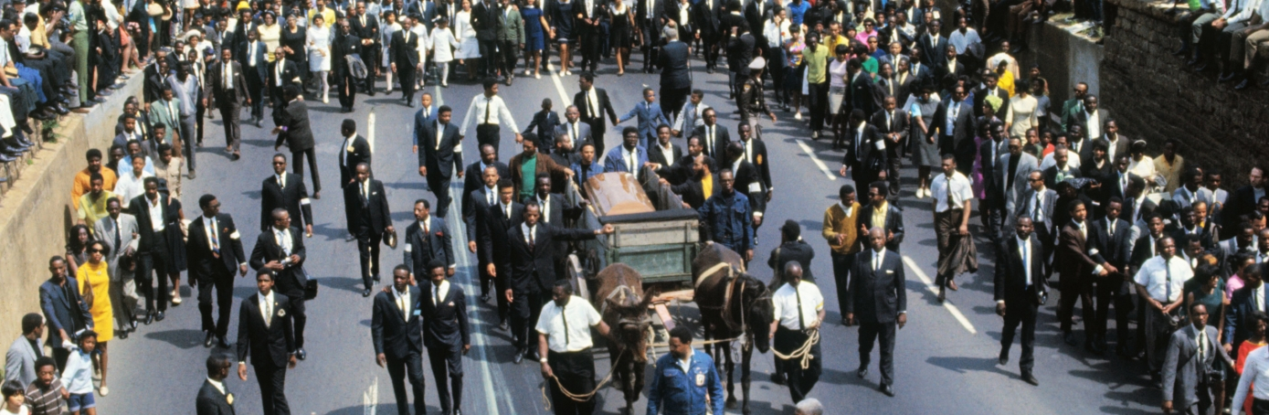 Martin Luther King Funeral Procession, MLK assassination
