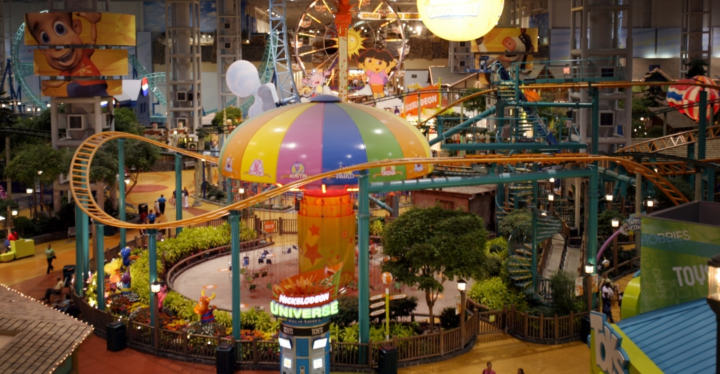 the mall of america, largest mall, minnesota, bloomington