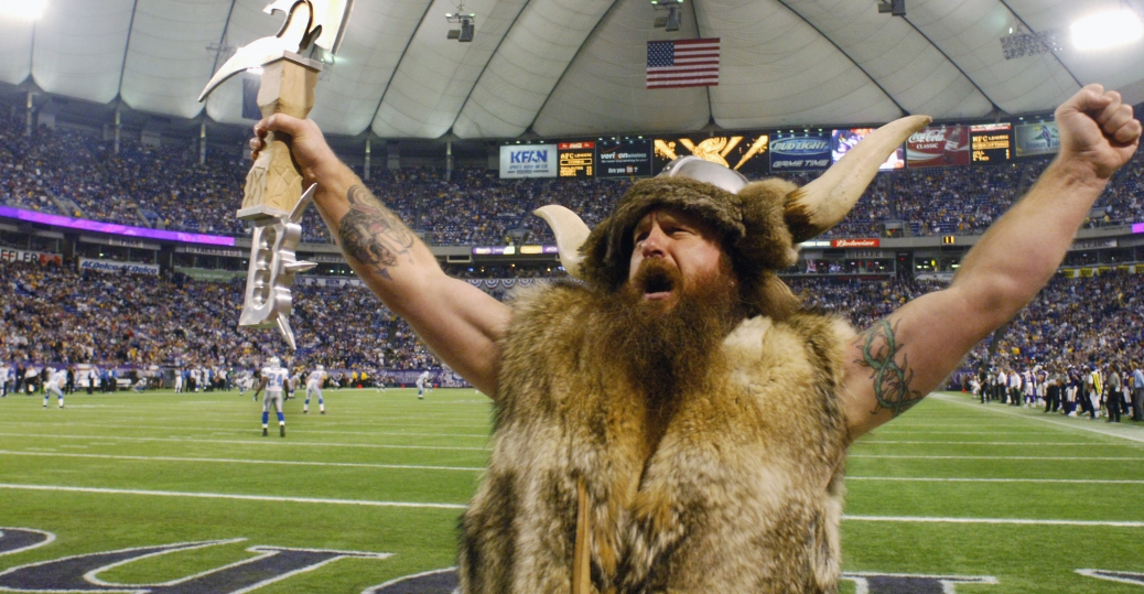 ragnar, minnesota, minnesota vikings, mascot, joseph juranitch, national football league, the vikings