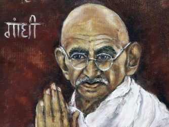 an introduction to the life of mohandus karamchand gandhi Early life and education mohandas karamchand gandhi was born to a hindu family on 2 october 1869, in porbandar, gujarat, india he was the last child of karamchand gandhi, his father and his father's fourth wife putlibai.