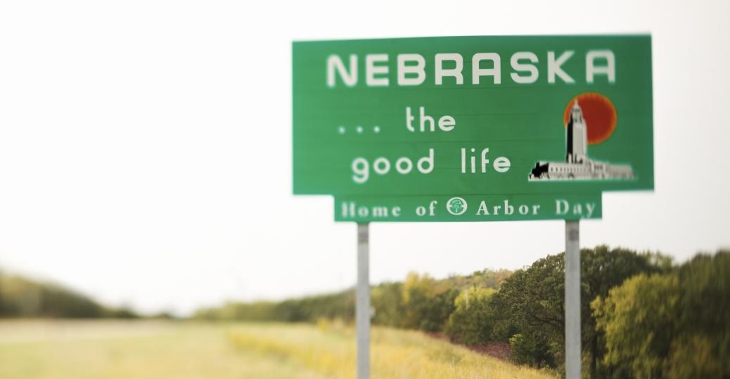 Husker Caveman Signs : Nebraska welcome sign pictures