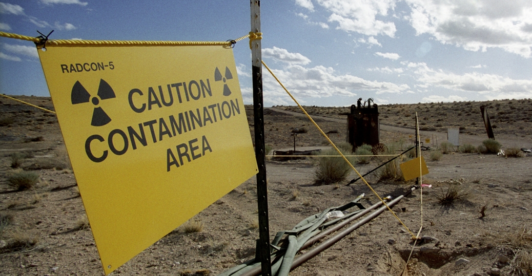 nuclear test site, yucca mountain, nevada, crater