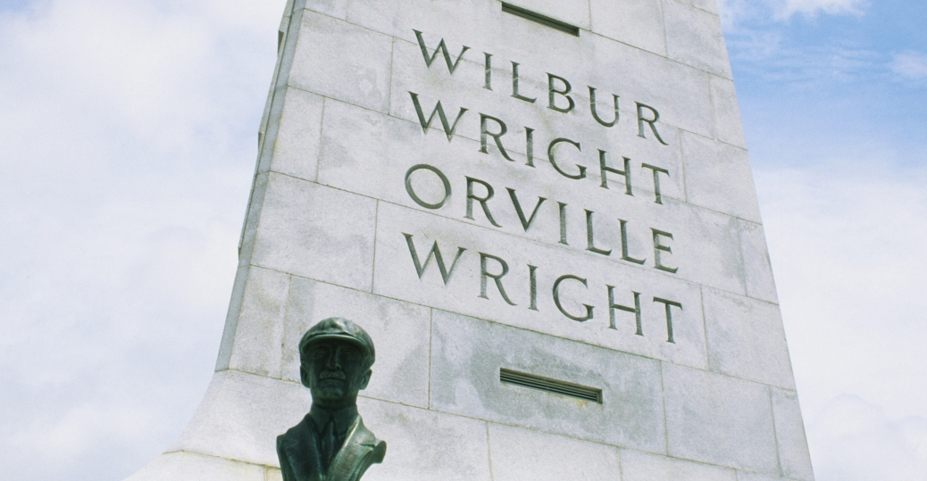 the wright brothers, the wright brothers memorial, kitty hawk, north carolina, wilbur wright, orville wright, first successful flight