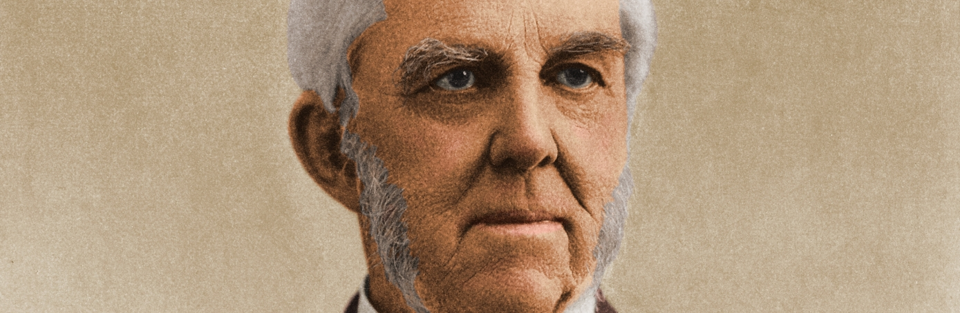 American writer and physician Oliver Wendell Holmes Sr.