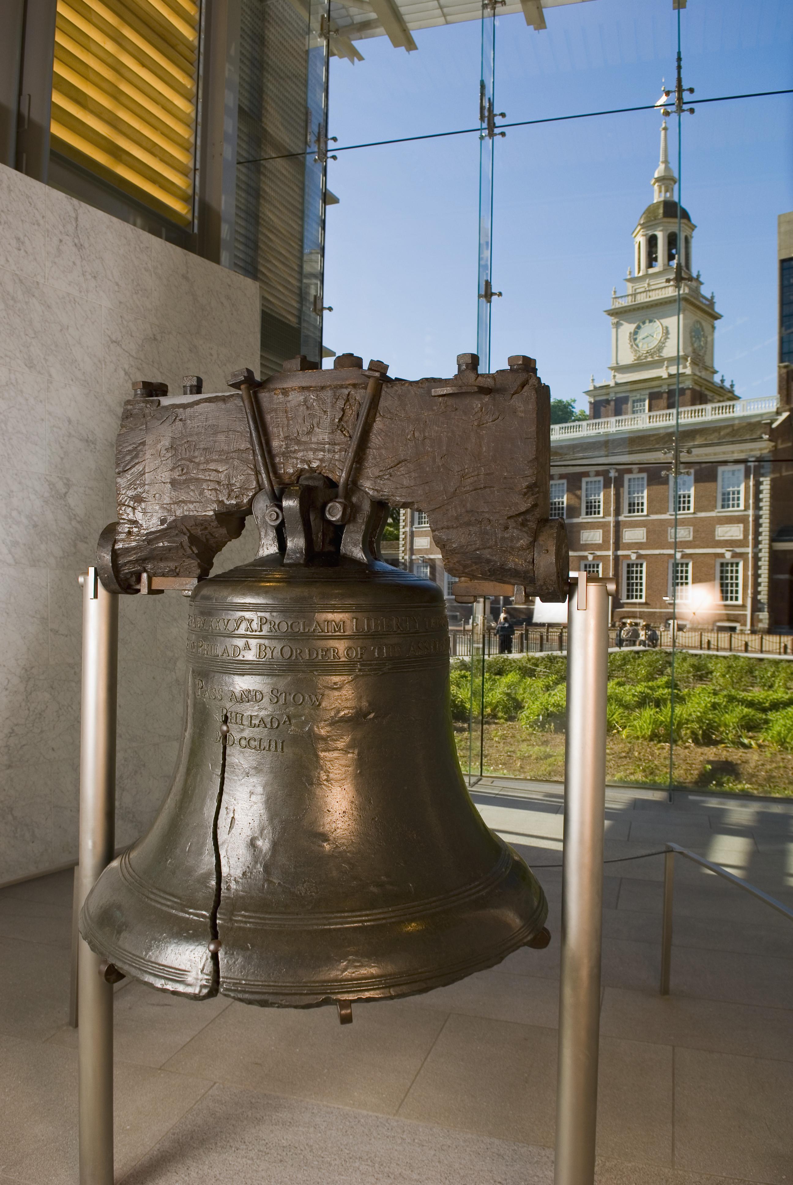 Liberty bell and independence hall in philadelphia pennsylvania the liberty bell philadelphia pennsylvania american revolutionary war biocorpaavc Images