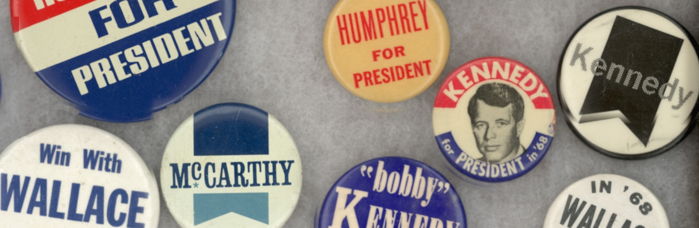 American Campaign Buttons