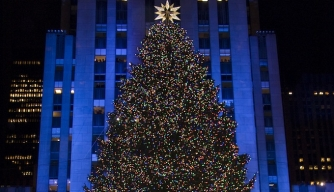 75th Rockefeller Center Christmas Tree Lighting Ceremony