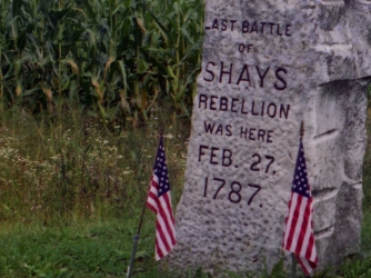 Shays rebellion date in Sydney