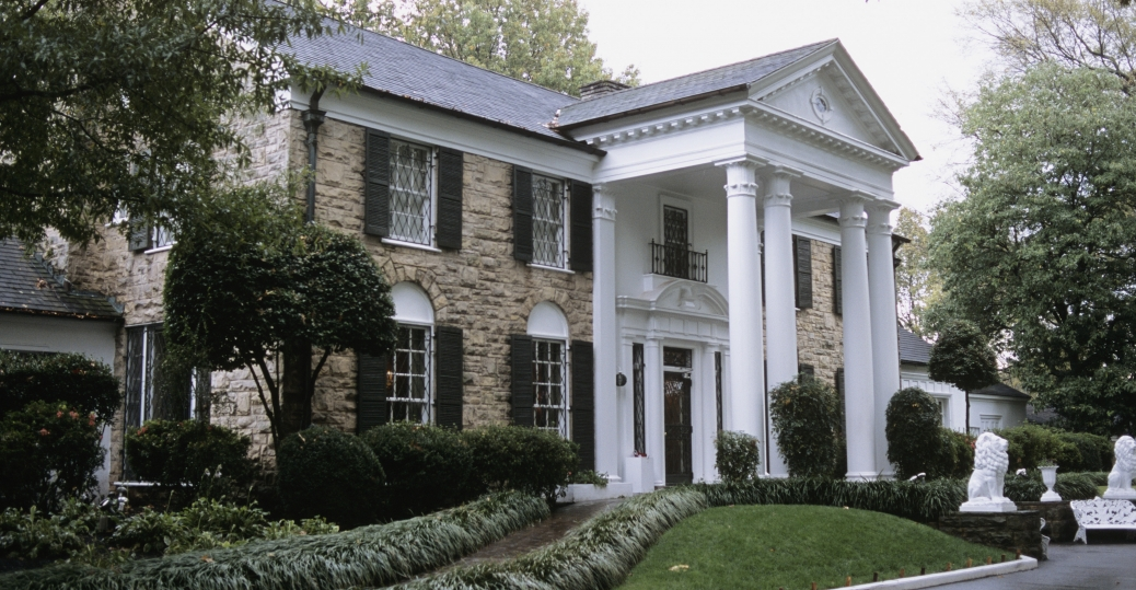 Graceland Mansion Tennessee Pictures Tennessee
