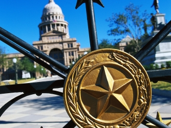 capitol building, austin, texas, state seal