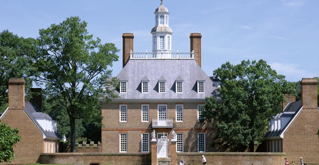 governor's palace, colonial, williamsburg, virginia