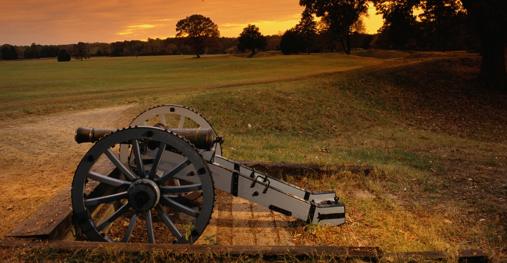 cannon, yorktown, battlefield, colonial national historic park, virginia