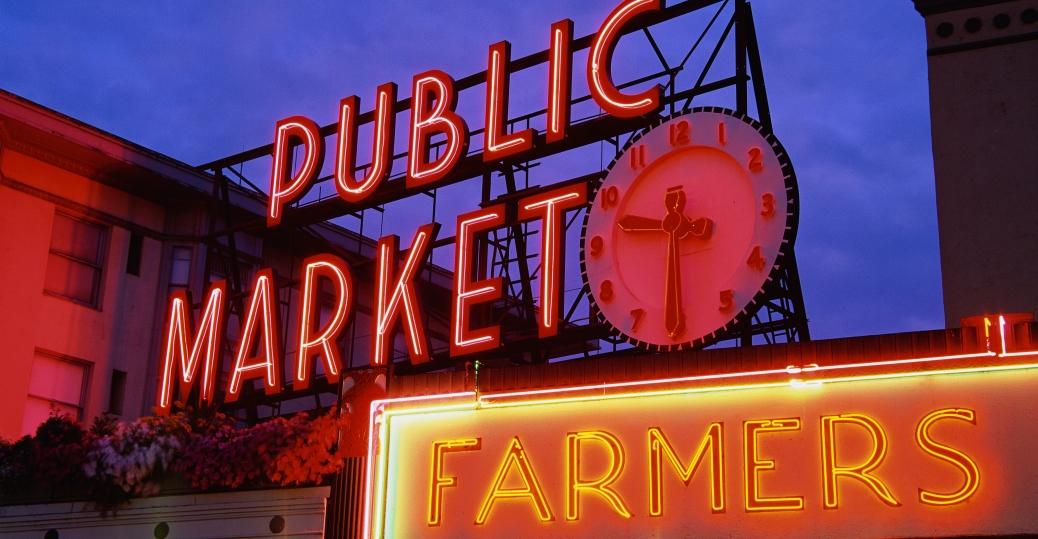 pike place, market, downtown, seattle, emerald city, tourist attraction, washington