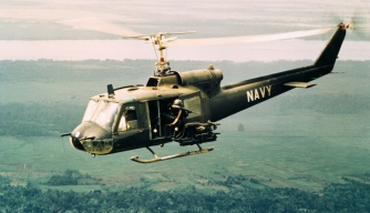 UH-1B armed helicopters