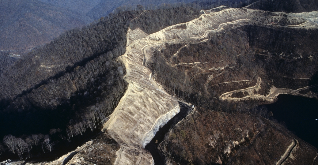 Arch coal strip mines in wv