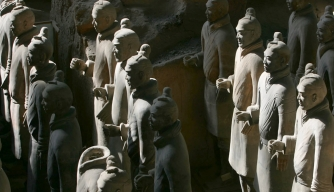 Xian Tombs of Qin Dynasty