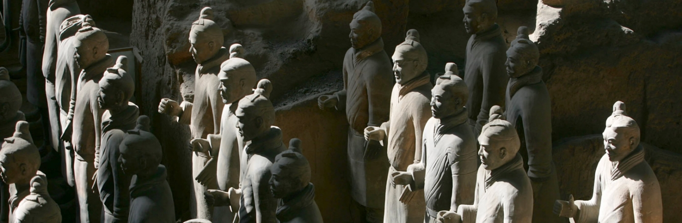Xian Tombs of Qin Dynasty, Qin Terracotta Warriors and Horses, China, Emperor Qin Shihuang