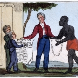 Early abolitionist drawing
