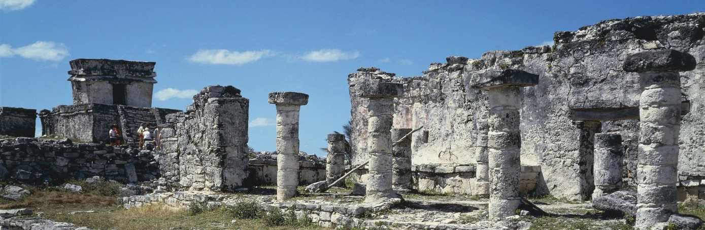 Quintana Roo - Maya archaeological site of Tulum