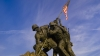 arlington, virginia, iwo jima war memorial, american marines, mount suribachi, battle of iwo jima
