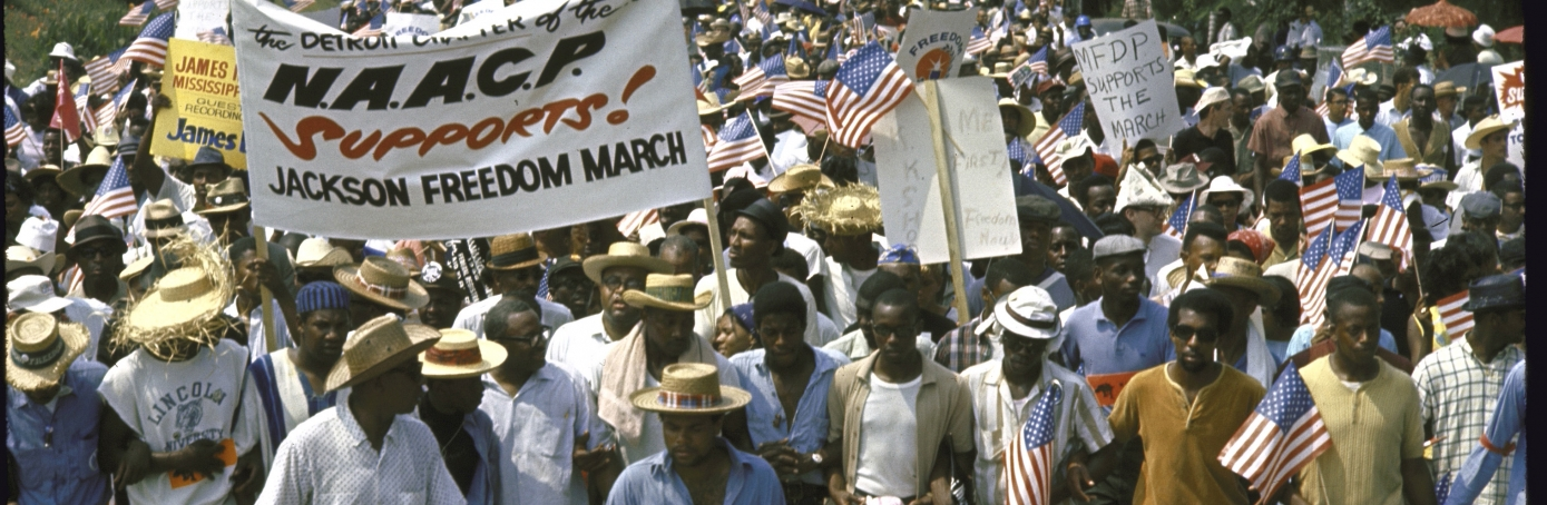 Civil Rights Movement march