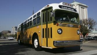 Rosa Parks bus replica