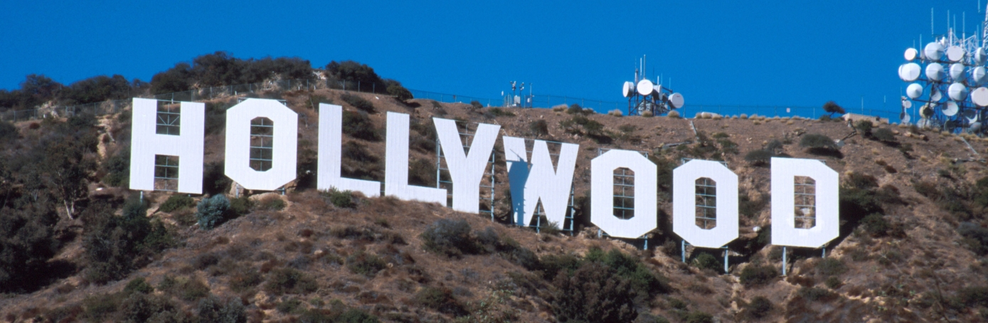 World-famous Hollywood sign