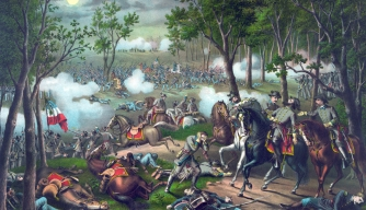 Battle of Chancellorsville painting