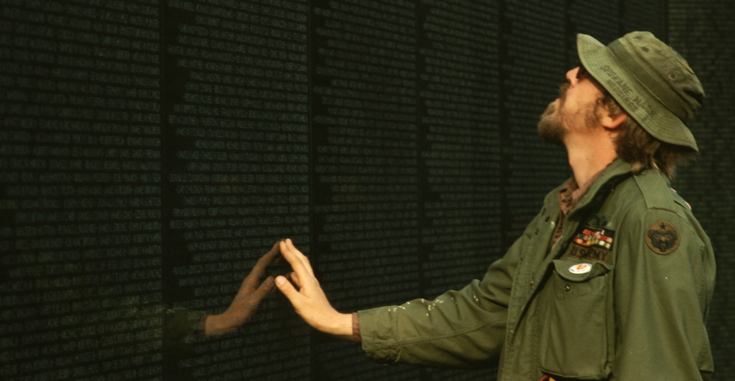 Vietnam War Wall Visitor