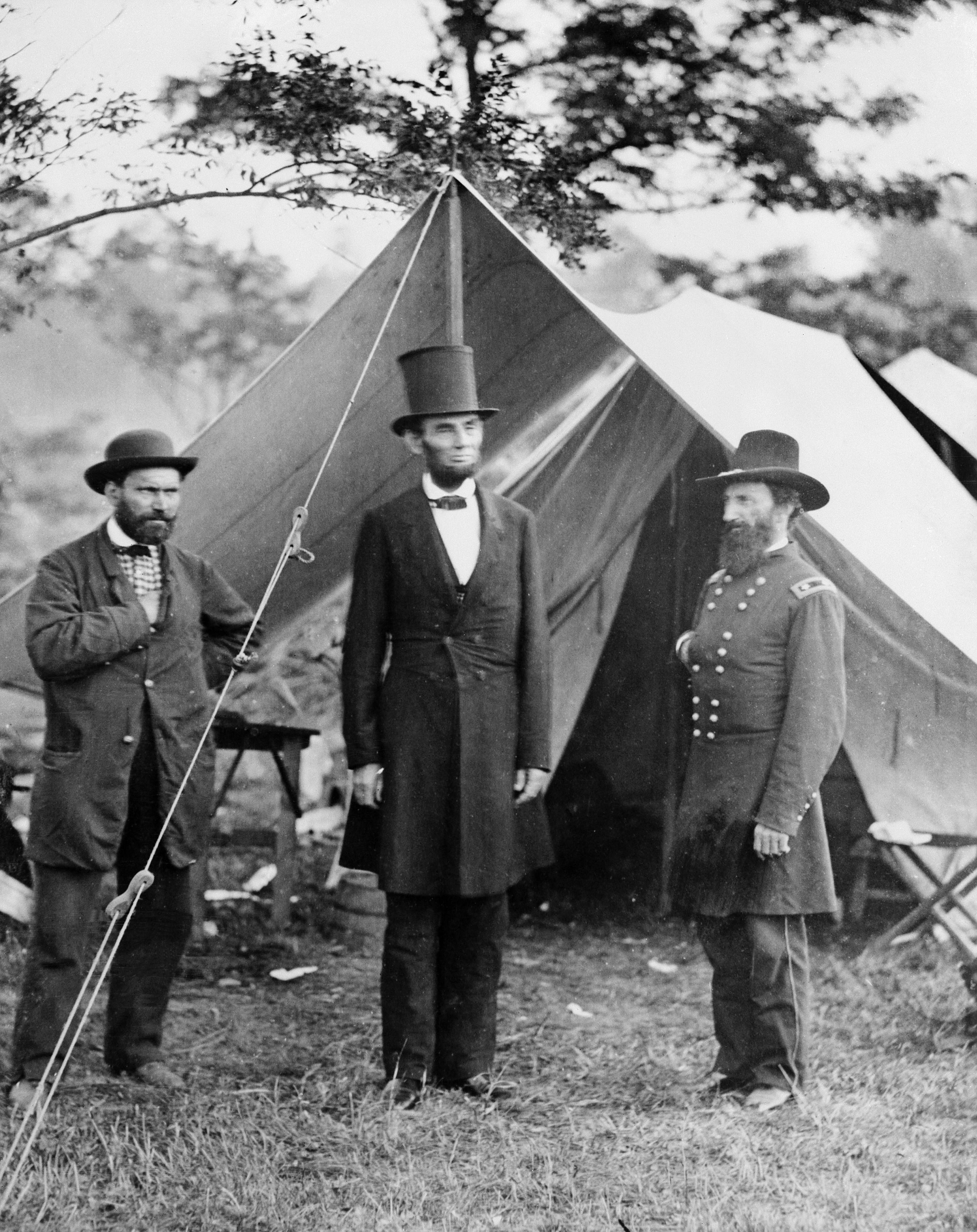 Allan Pinkerton Abraham Lincoln And John A Mcclernand