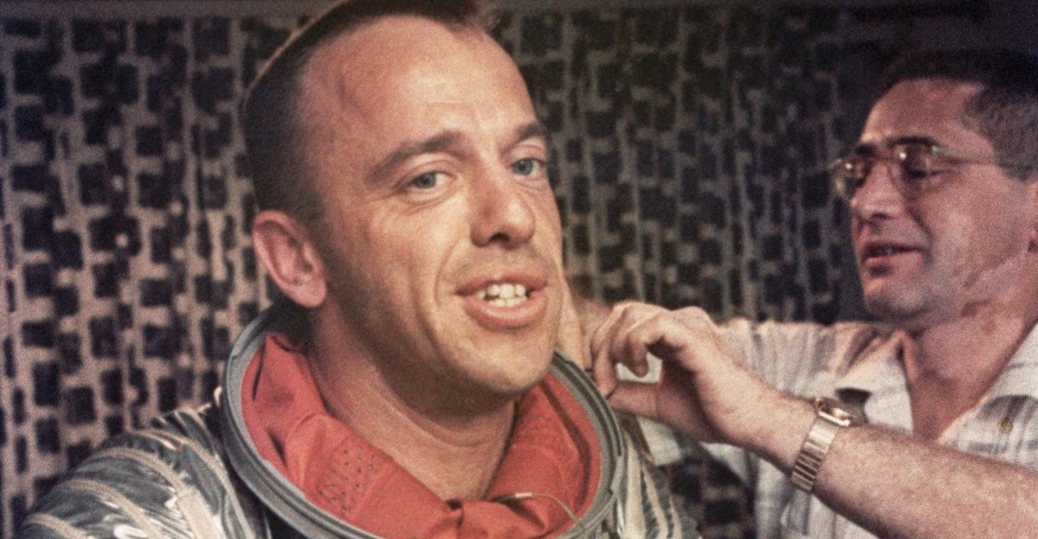 alan shepard, astronaut, 1961, the soviet union, the soviet challenge, first american in space, the space race, the cold war