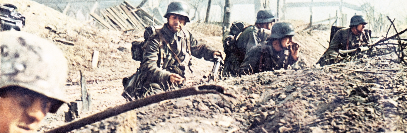 Soldiers at the battle of Stalingrad