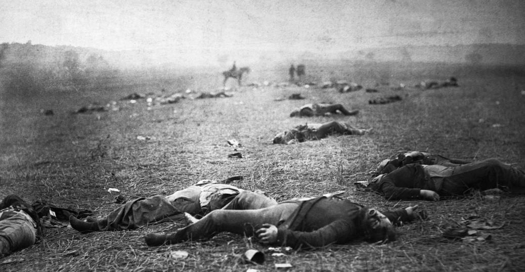 battle of gettysburg, pennsylvania, 1863, the civil war, causalities