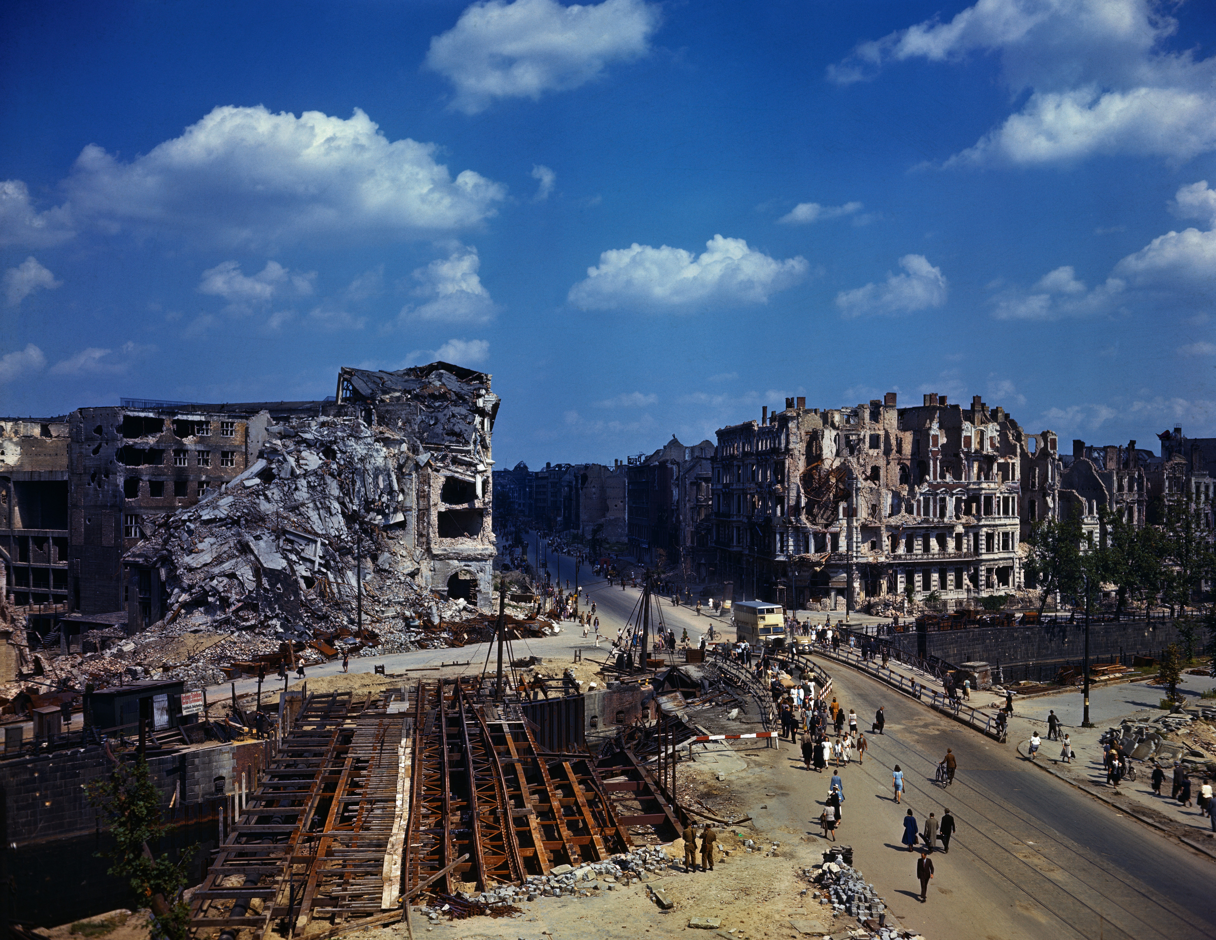BBC - Travel - Vintage Berlin: After World War II  |Berlin Germany After Wwii