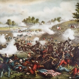 the civil war, battle of bull run, 1861, first battle of bull run, general mcdowell, general beauregard