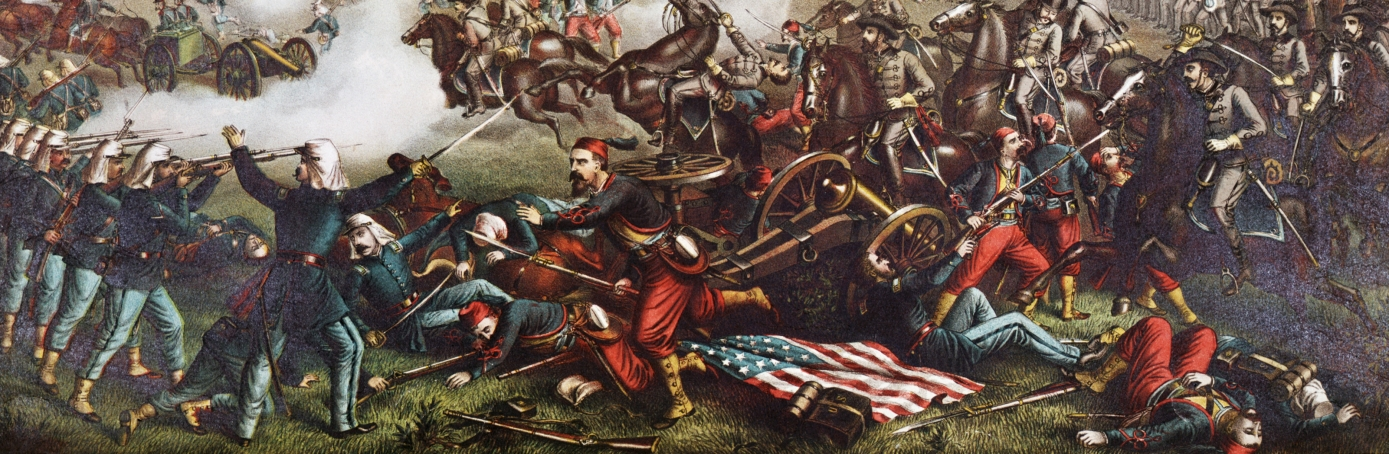 First Battle of Bull Run lithograph