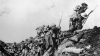 canadian soldiers, over the top, world war I, trench, trench warfare
