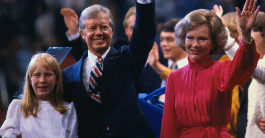 governor of georgia, president jimmy carter, carter family, amy carter, rosalynn carter
