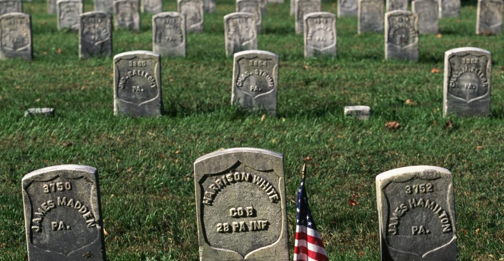 sharpsburg, maryland, battle of antietam, the civil war, antietam national cemetery, soldiers, gravesite