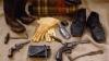 the civil war, cavalry kit, civil war artifacts