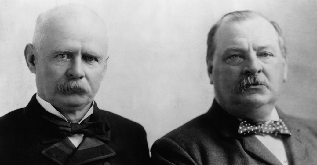 1889 presidential elections, benjamin harrison, tariff revisions, grover cleveland, 1892 presidential elections, second term, president cleveland, vice president stevenson