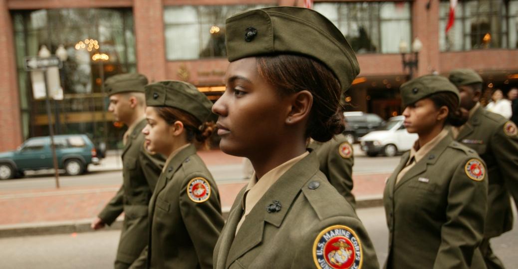 boston, massachusetts, veterans day, veterans day parade, soldiers, demonstration drills