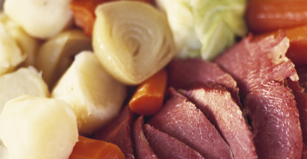 corned beef, cabbage, st. patrick's day