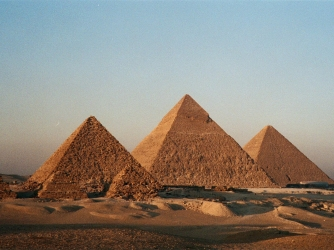 The Egyptian Pyramids on 12 Early Civilizations