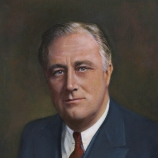 president fdr, roosevelt, franklin d roosevelt, four presidential terms, nation's great crises, the great depression, World War II