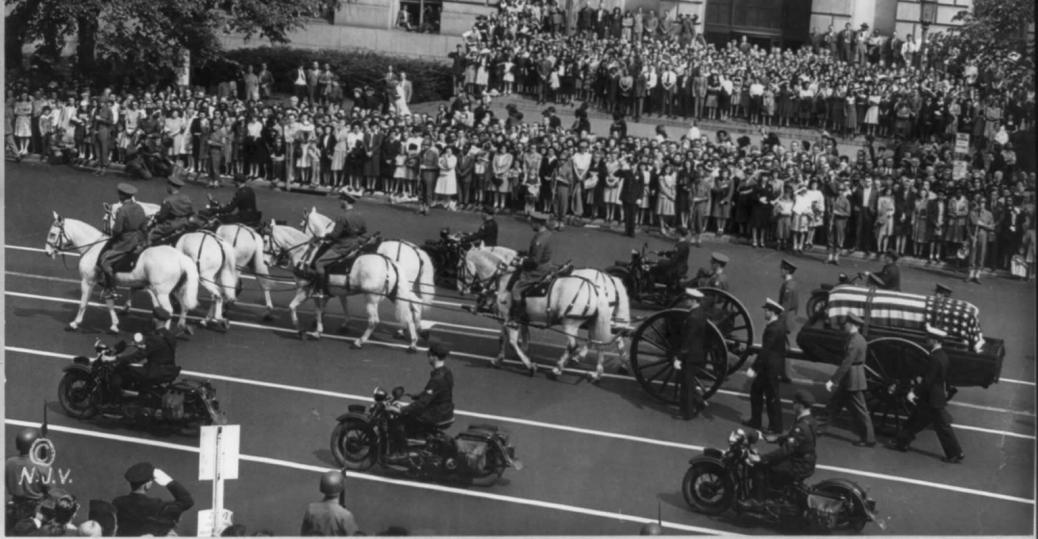 april 12 1945, stroke, warm springs, georgia, president fdr, death, franklin d roosevelt, harry truman