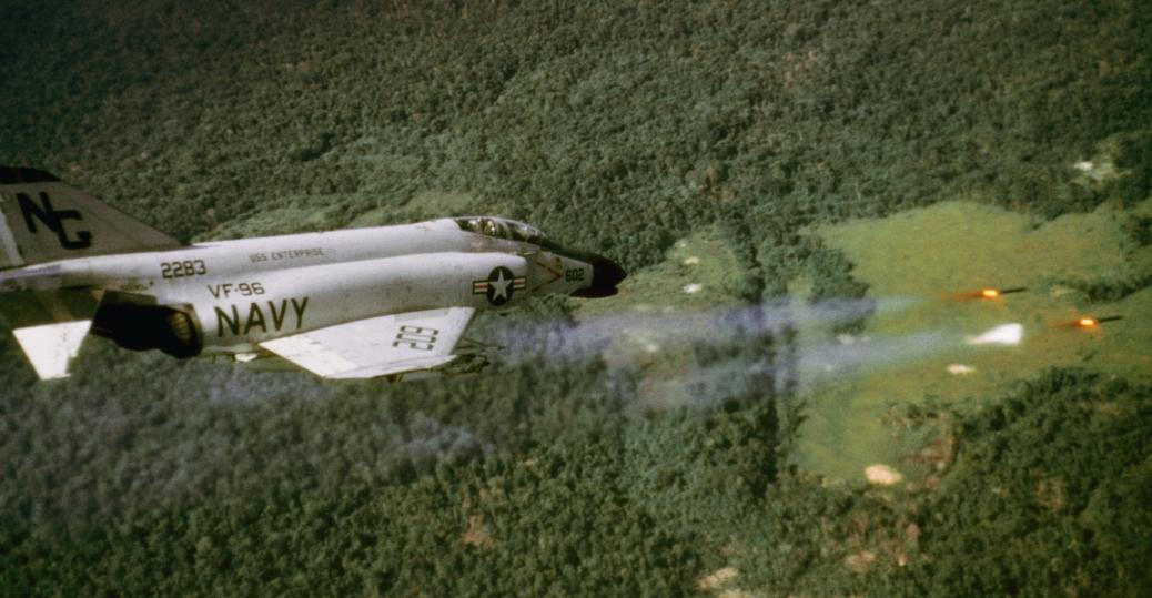 u.s. navy, rockets, phantom f4b, viet cong, the vietnam war
