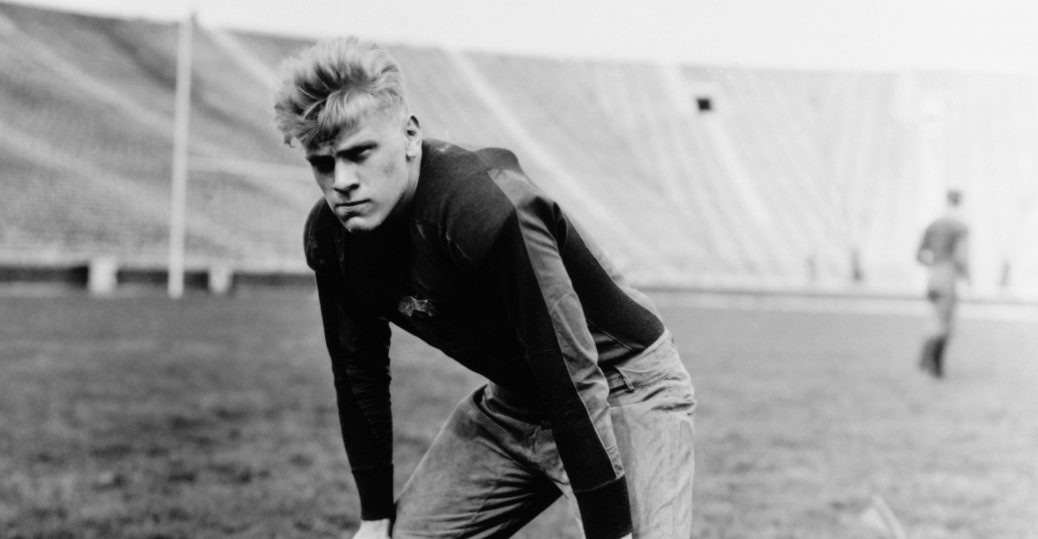 university of michigan, football, gerald ford