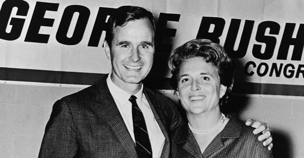 texas congressman, george bush, political career, 1966